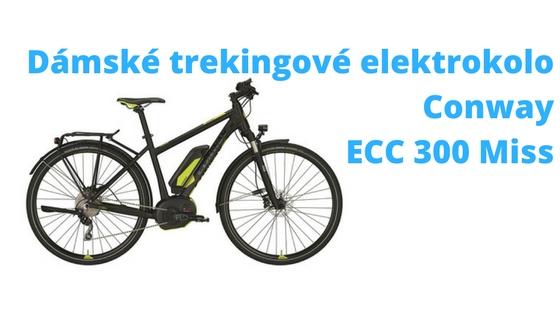Dámské trekingové elektrokolo Conway ECC 300 Miss