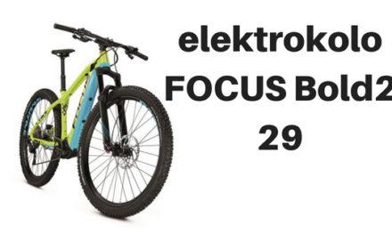 Horské elektrokolo FOCUS Bold2 29